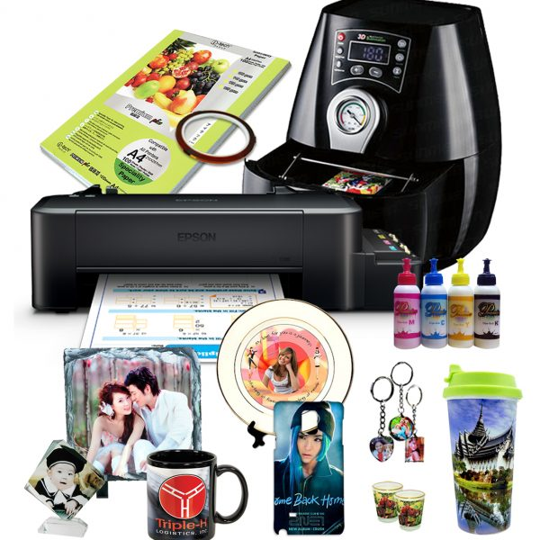 Cuyi Heat Press A3 Package